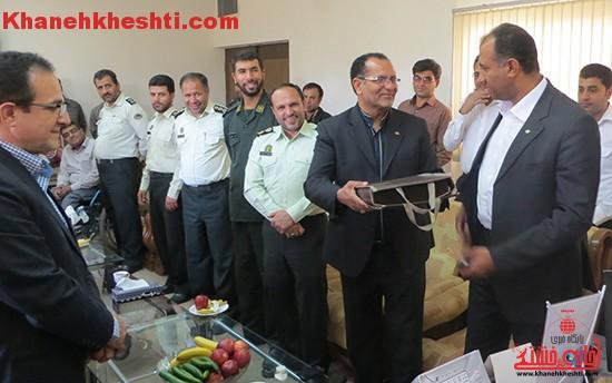 رئیس جدید فرودگاه رفسنجان معرفی شد + عکس