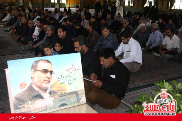 دوربین خانه خشتی در مراسم بزرگداشت شهید بادپا در رفسنجان(۱)