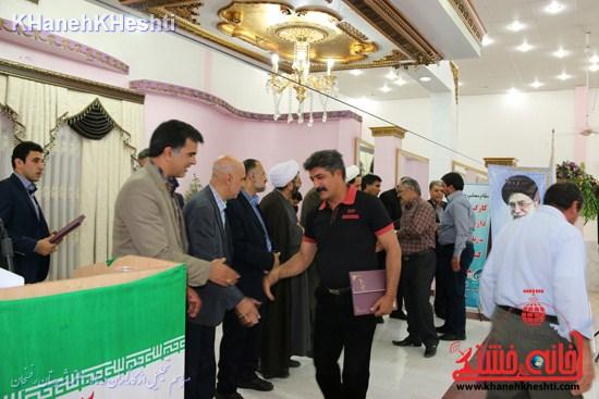 مراسم تجلیل از کارگران شهرستان رفسنجان (۱۲)