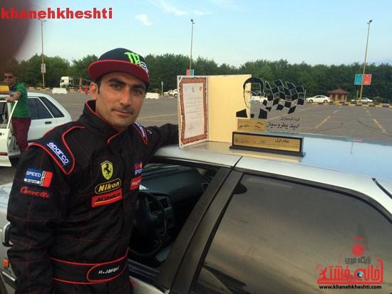 کسب مقام اول کشوری توسط اتومبیلران رفسنجانی