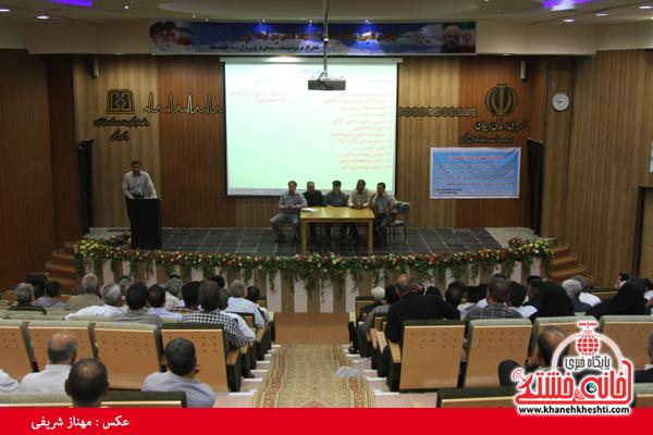 اولین مجمع عمومی شرکت تعاونی فراگیر بهره برداران منابع طبیعی در رفسنجان شکل گرفت