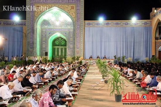 آئین جمع خوانی قرآن کریم در رفسنجان
