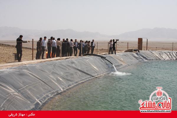 آبیاری تحت فشار در رفسنجان-خانه خشتی (۲)
