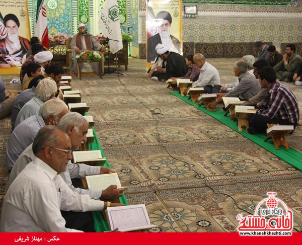 محفل انس با قرآن با حضور احمد شحات احمد در رفسنجان برگزار شد + عکس