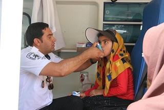 خدمت رسانی اورژانس ۱۱۵ رفسنجان به ۴۳ زائر حرم حضرت امام خمینی (ره)
