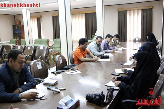 رئیس دادگستری رفسنجان در جمع اصحاب رسانه (۲)
