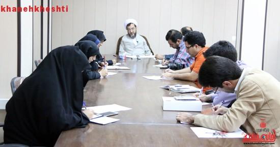 رئیس دادگستری رفسنجان در جمع اصحاب رسانه