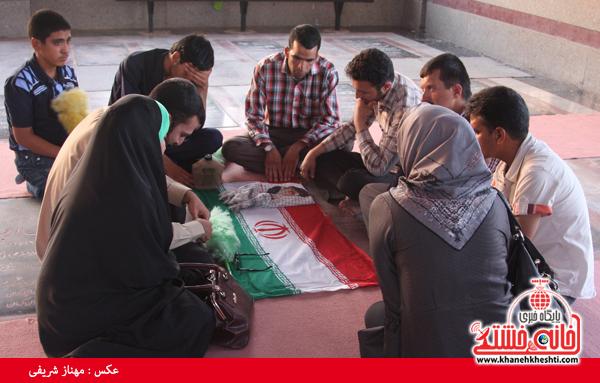 سالروز شهادت شهید حسن محمدرضایی در رفسنجان برگزار شد + عکس