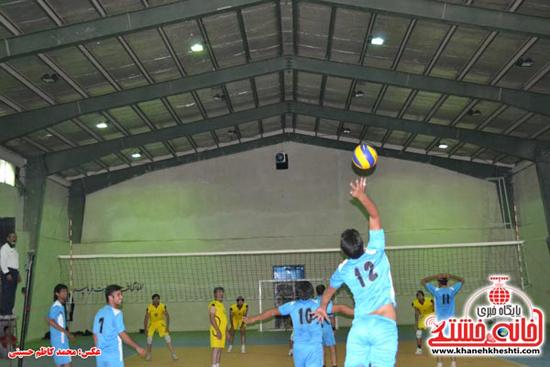 دوربین خانه خشتی در مسابقات والیبال جام رمضان رفسنجان