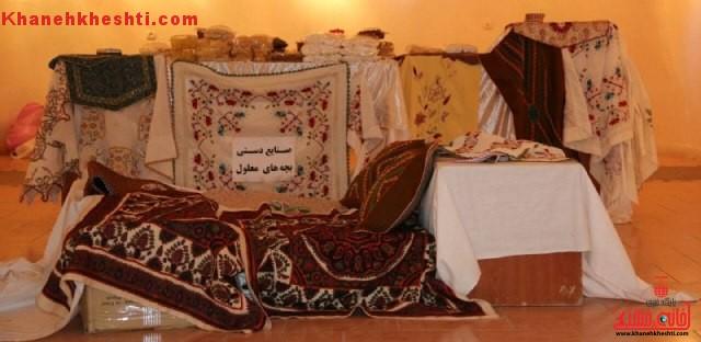 نمایشگاه صنایع دستی و غذایی بیرجند در رفسنجان تا فردا تمدید شد + عکس