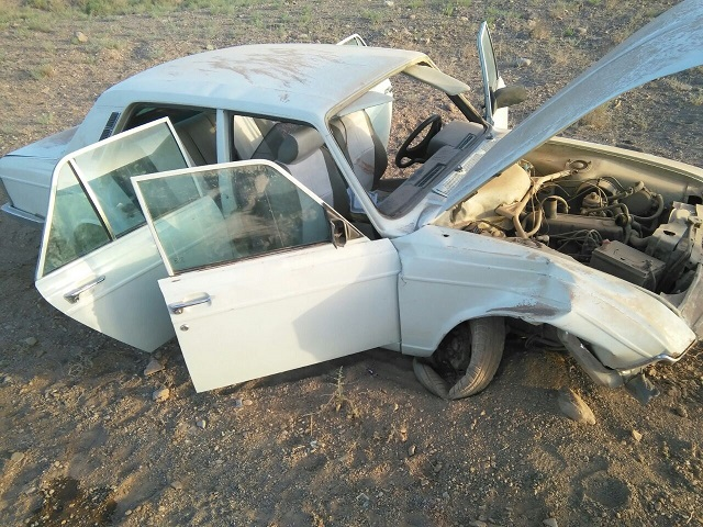 واژگونی سواری پیکان ۵ کشته و مصدوم برجا گذاشت
