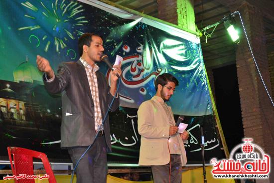 جشن بزرگ نیمه شعبان در امام زاده سید غریب شهرستان رفسنجان + عکس