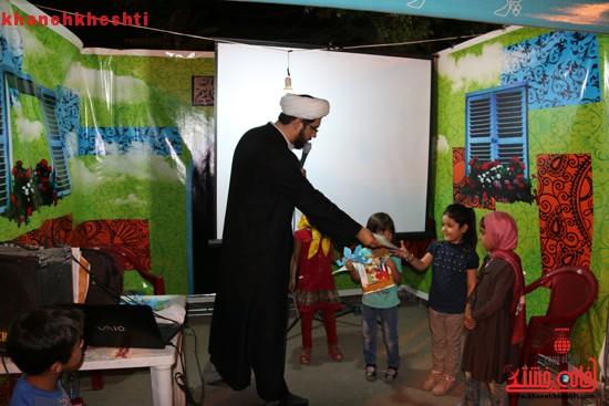 عمو روحانی در بوستان جوان رفسنجان + عکس