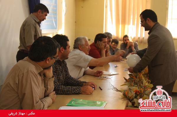 انتخابات انجمن داستان نویسان رفسنجان برگزار شد + عکس