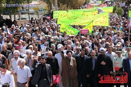 راهپیمایی روز قدس رفسنجان (۱)
