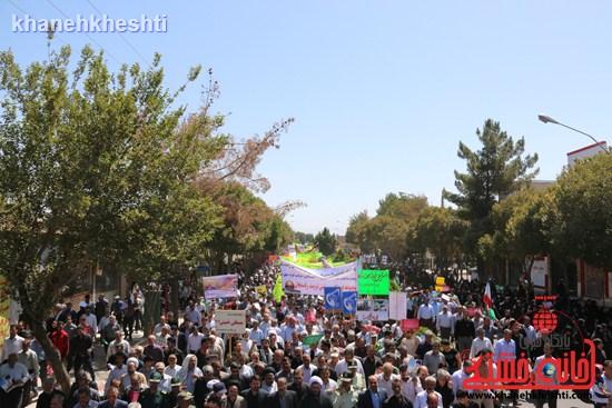 راهپیمایی روز قدس رفسنجان (۲)