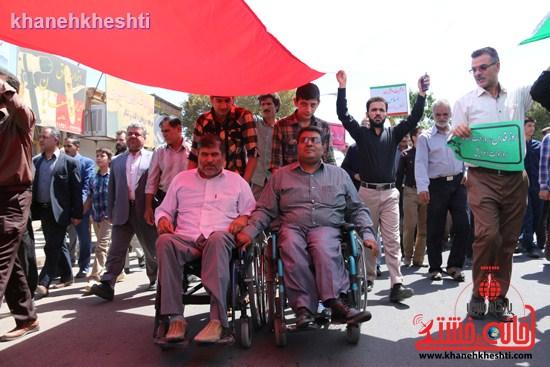 راهپیمایی روز قدس رفسنجان (۵)