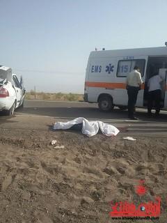 حادثه در محور رفسنجان به کرمان دو کشته برجای گذاشت