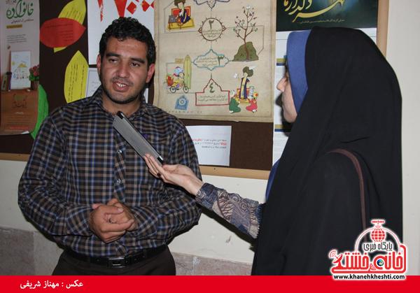 محمدآبادی رئیس فرهنگ و ارشاد رفسنجان-خانه خشتی