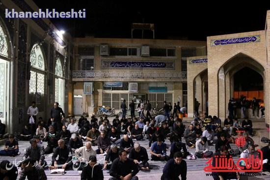 مراسم احیاشب بیستوسوم ماه رمضان در رفسنجان (۱۴)