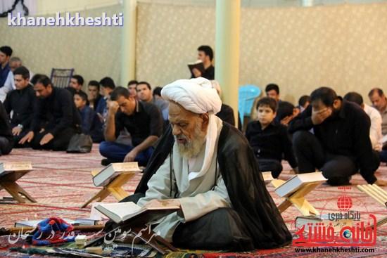 مراسم احیاشب بیستوسوم ماه رمضان در رفسنجان (۱۵)