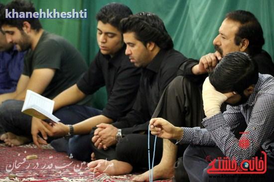 مراسم احیاشب بیستوسوم ماه رمضان در رفسنجان (۱۶)