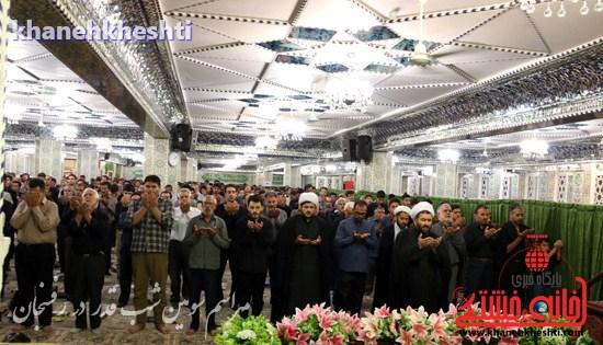 مراسم احیاشب بیستوسوم ماه رمضان در رفسنجان (۱۷)