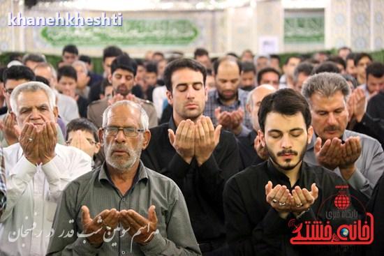 مراسم احیاشب بیستوسوم ماه رمضان در رفسنجان (۱۸)