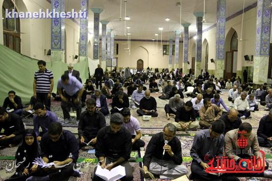 مراسم احیاشب بیستوسوم ماه رمضان در رفسنجان (۴)
