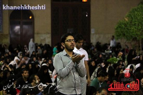 مراسم احیاشب بیستوسوم ماه رمضان در رفسنجان (۵)