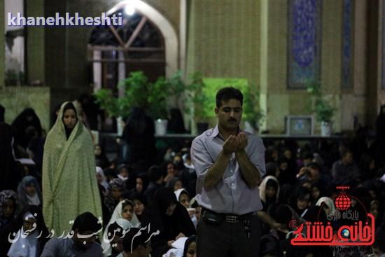 مراسم احیاشب بیستوسوم ماه رمضان در رفسنجان (۶)