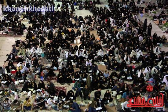 مراسم احیاشب بیستوسوم ماه رمضان در رفسنجان (۹)