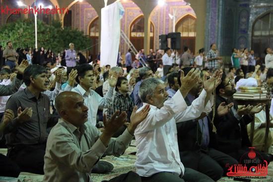 مراسم وداع مردم رفسنجان با ماه مبارک رمضان (۱)