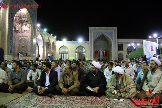 مراسم وداع مردم رفسنجان با ماه مبارک رمضان (۱۰)
