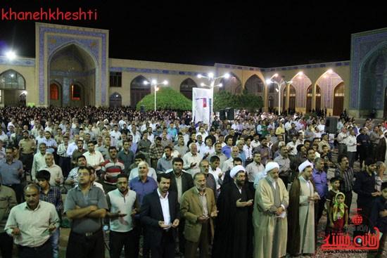 مراسم وداع مردم رفسنجان با ماه مبارک رمضان (۱۲)