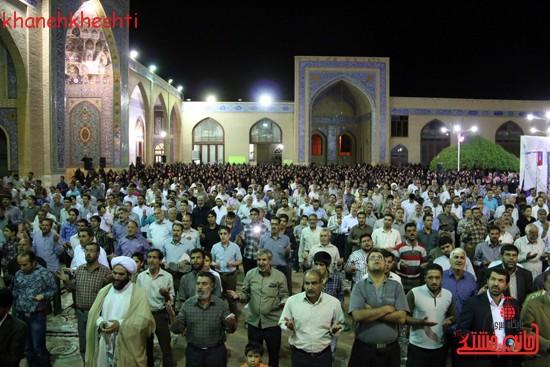 مراسم وداع مردم رفسنجان با ماه مبارک رمضان (۱۳)
