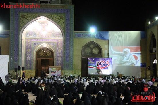 مراسم وداع مردم رفسنجان با ماه مبارک رمضان (۱۶)