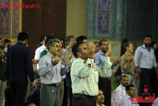 مراسم وداع مردم رفسنجان با ماه مبارک رمضان (۲)