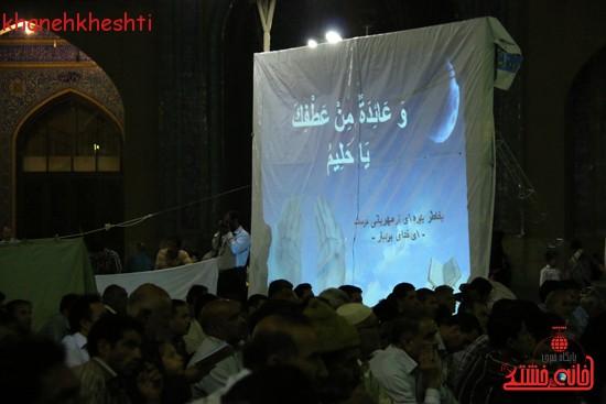مراسم وداع مردم رفسنجان با ماه مبارک رمضان (۴)