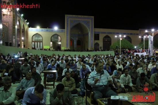 مراسم وداع مردم رفسنجان با ماه مبارک رمضان (۵)
