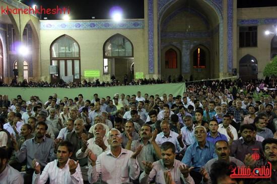 مراسم وداع مردم رفسنجان با ماه مبارک رمضان (۶)