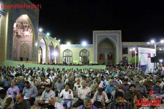 مراسم وداع مردم رفسنجان با ماه مبارک رمضان (۷)
