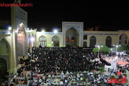 مراسم وداع مردم رفسنجان با ماه مبارک رمضان (۹)