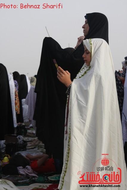 نماز عید فطر رفسنجان_خانه خشتی (۱)