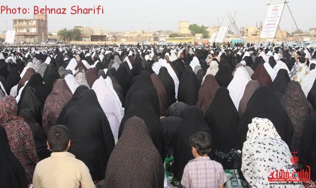 نماز عید فطر رفسنجان_خانه خشتی (۲۲)