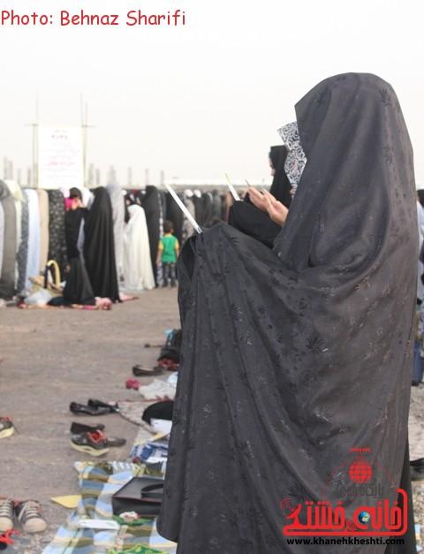 نماز عید فطر رفسنجان_خانه خشتی (۲۴)