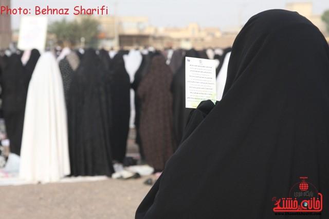 نماز عید فطر رفسنجان_خانه خشتی (۳)