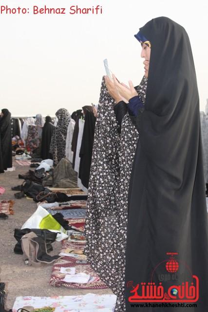 نماز عید فطر رفسنجان_خانه خشتی (۴)