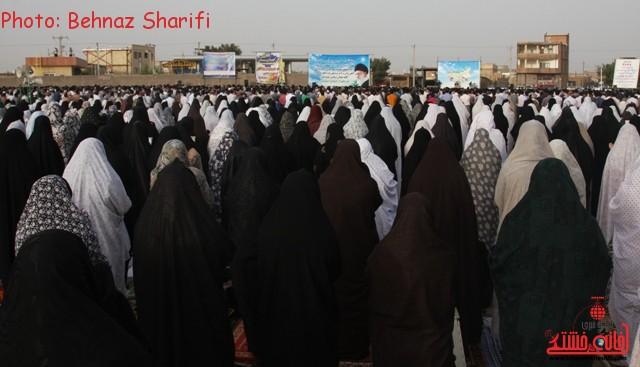 نماز عید فطر رفسنجان_خانه خشتی (۵)