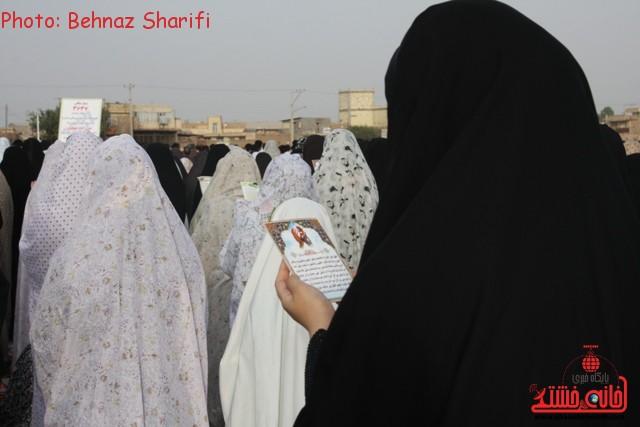 نماز عید فطر رفسنجان_خانه خشتی (۶)